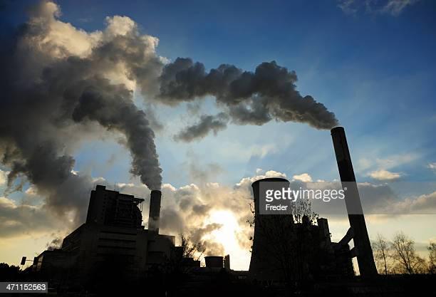 Kohle befeuert Kraftwerk