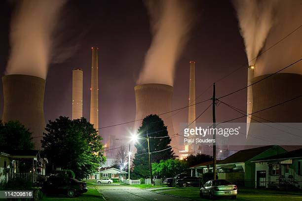Coal-Fired Power Plant, Winfield, West Virginia