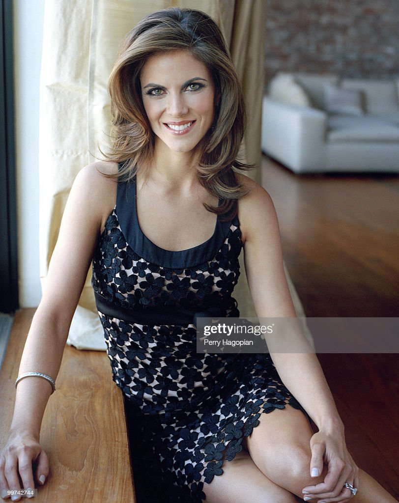 TV co-anchor and correspondent for NBC's Today show, Natalie Morales poses at a portrait session for People en Espanol Magazine in 2007. Published image.