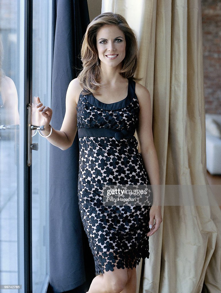 TV co-anchor and correspondent for NBC's Today show, Natalie Morales poses at a portrait session for People en Espanol Magazine in 2007.