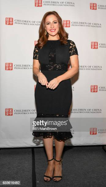 CoAnchor Fox 5 Good Day Wake Up and Host Teresa Priolo attends the 2017 Mission Possible Transforming Children's Lives Gala Dinner Awards> at...