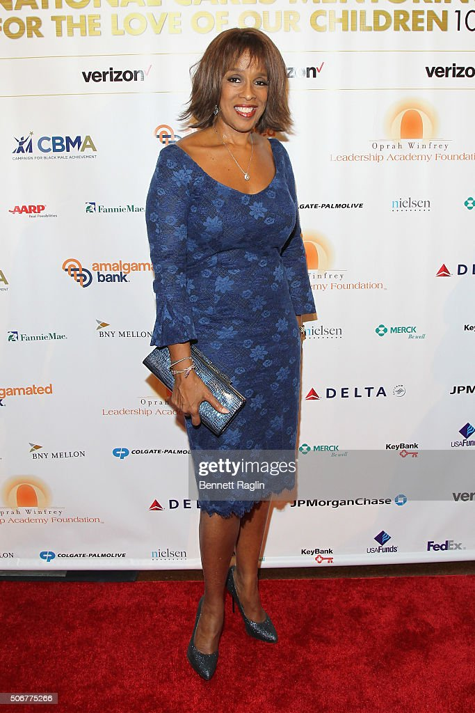 Co-anchor of CBS This Morning, Gayle King attends 'For the Love Of Our Children Gala' hosted by the National CARES Mentoring Movement on January 25, 2016 in New York City.
