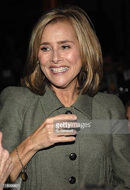 Co-Anchor, Today, Meredith Vieira, Host, at the 2007 Human Rights Award Dinner at Pier Sixty, Chelsea Piers on October 15, 2007 in New York City.