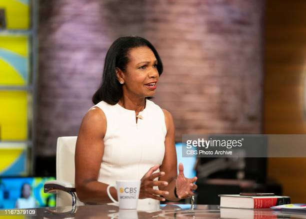 CoAnchors Gayle King Anthony Mason and Tony Dokoupil interview Michael Bloomberg Condoleezza Rice and Greta Thunberg Live on September 10 2019