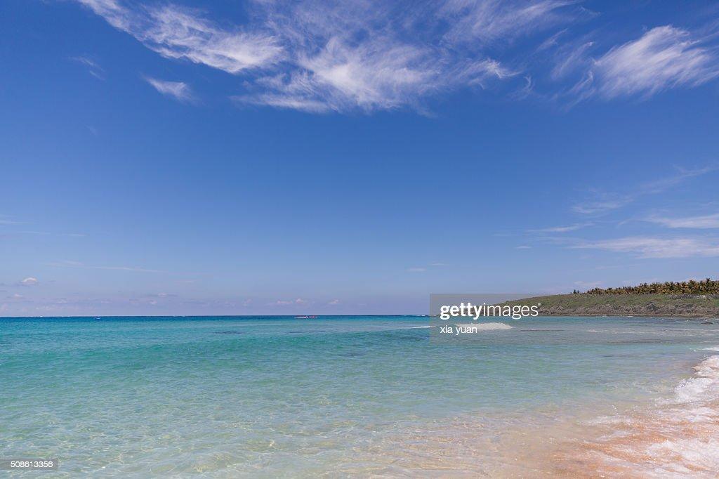 Coast beach on Kenting,Pingtung County,Taiwan,China : Stock Photo