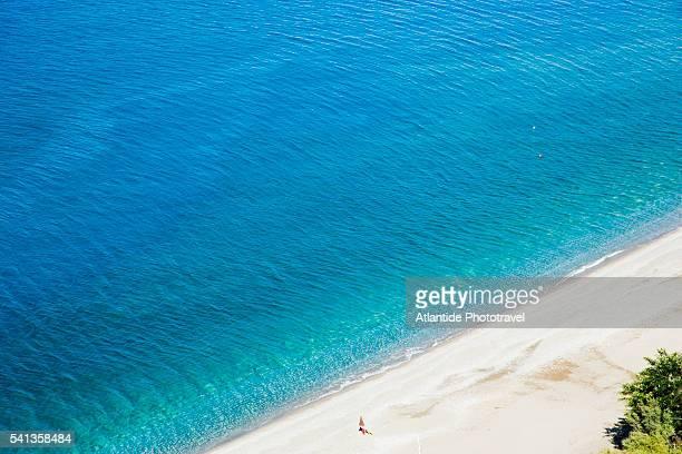 Coast Between Diamante and Cetraro Marina