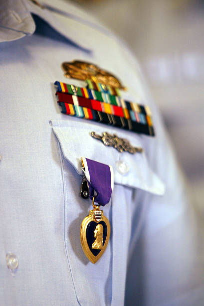 Coast Guard Presents Purple Heart to Soldier Injured in Iraq