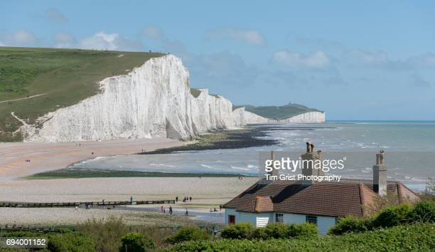 Coast Guard Coattages and the Seven Sisters Cliffs