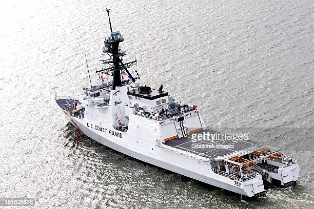 u.s. coast guard cutter stratton - coast guard stock pictures, royalty-free photos & images