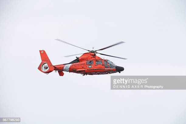 US Coast Guard Helicopter at St Thomas USVI