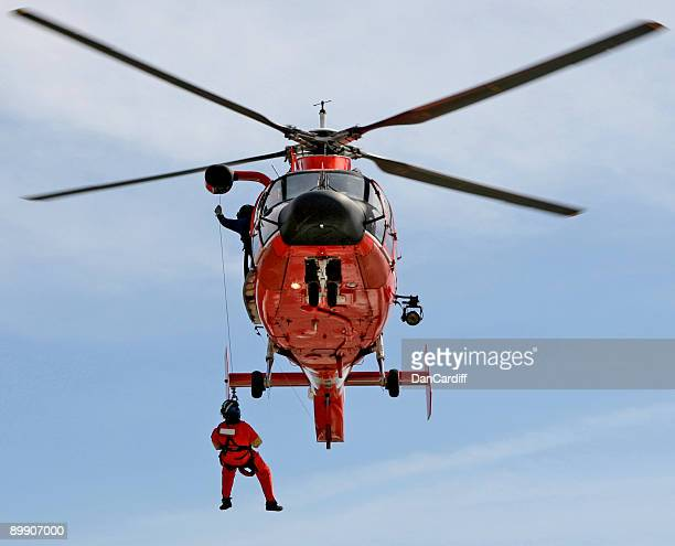 coast guard - medevac stock photos and pictures