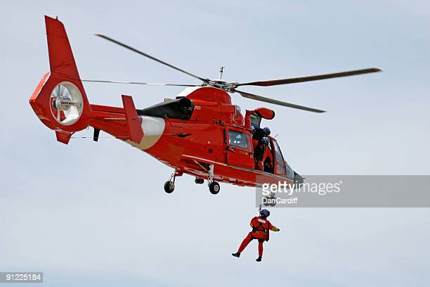 coast guard rescue - medevac stock photos and pictures