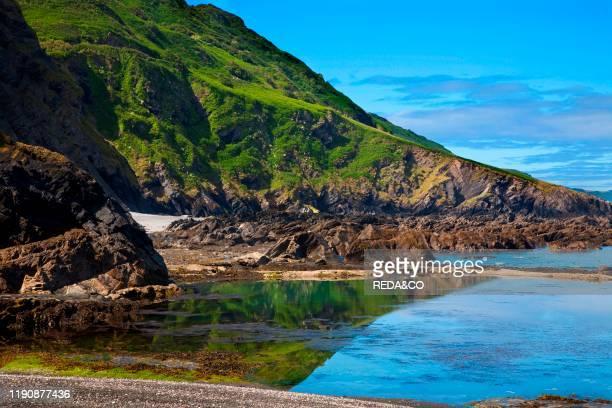 Coast Ilfracombe North Devon England Great Britain