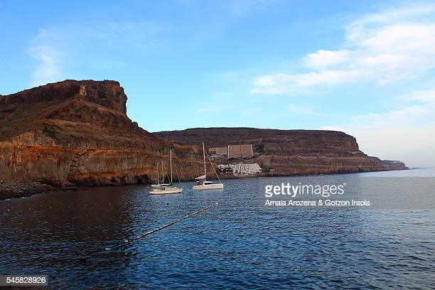 Coast in Puerto Mogan, Grand Canary island