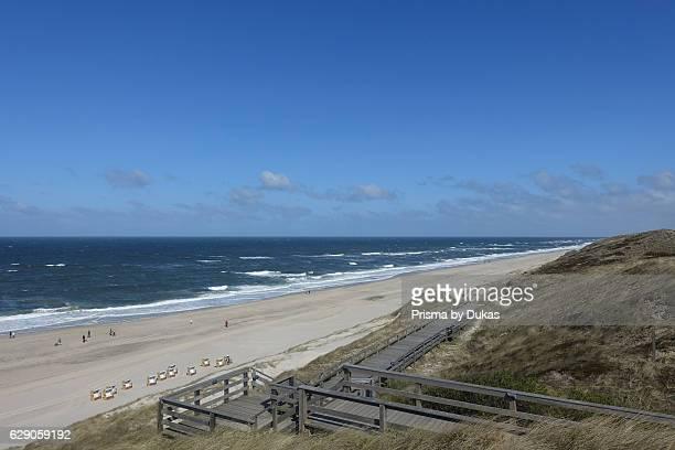 Coast in Sylt, Westerland.