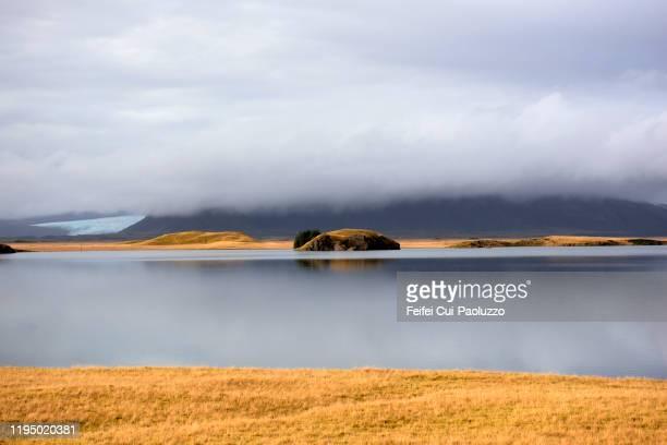coast near höfn, southeastern, iceland - austurland stock-fotos und bilder