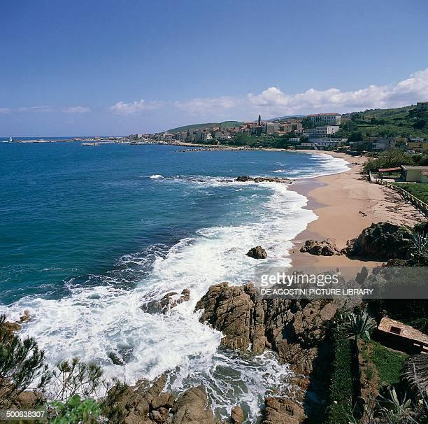 Coast near Propriano Corsica France