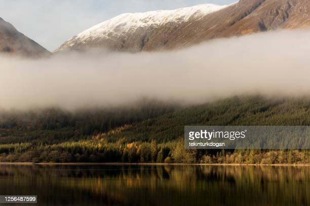 coast of loch ness lake near inverness at highland scotland england uk - loch ness stock pictures, royalty-free photos & images