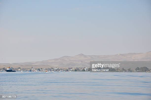 "coast of paracas, peru seen from the water - ""markus daniel"" stock pictures, royalty-free photos & images"