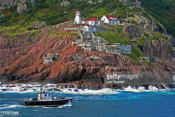 coast of st. john's, canada - paisajes de st johns fotografías e imágenes de stock