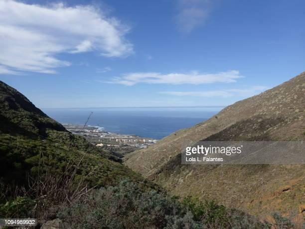 Coast view from Anaga mountains, Tenerife