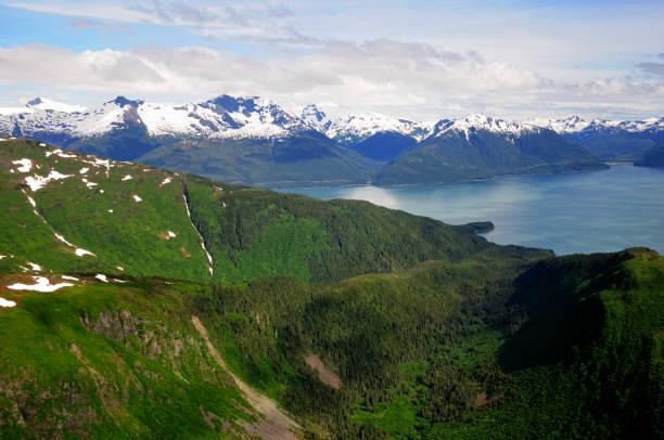 Coastal Alaska And The Taku Inlet. Wall Art
