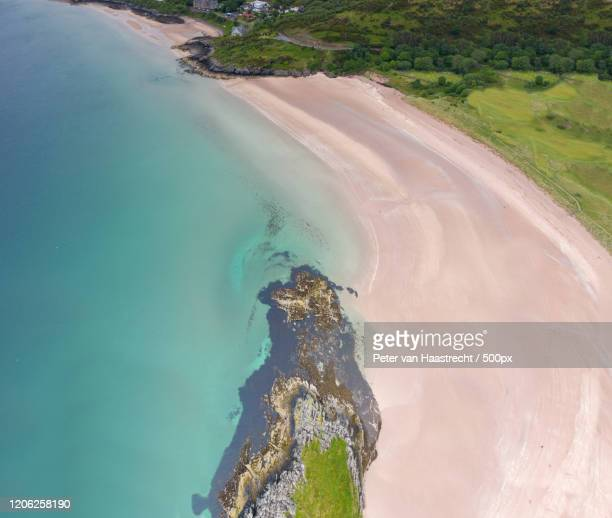 coastal area, portree, uk - ポートリー ストックフォトと画像