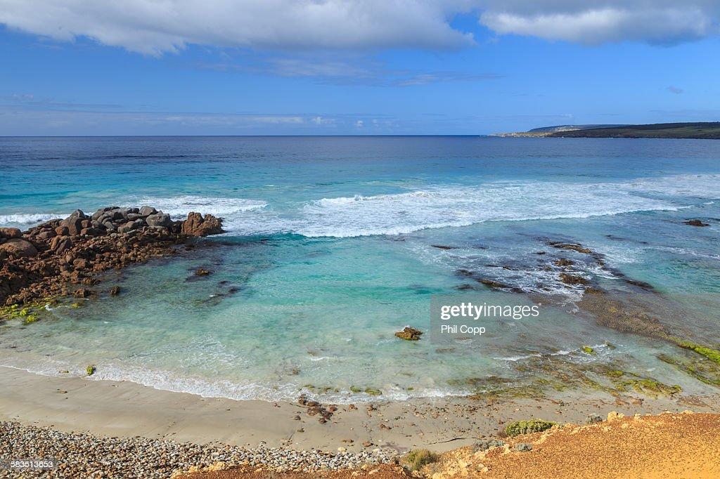 Coastal Bay : Stock Photo