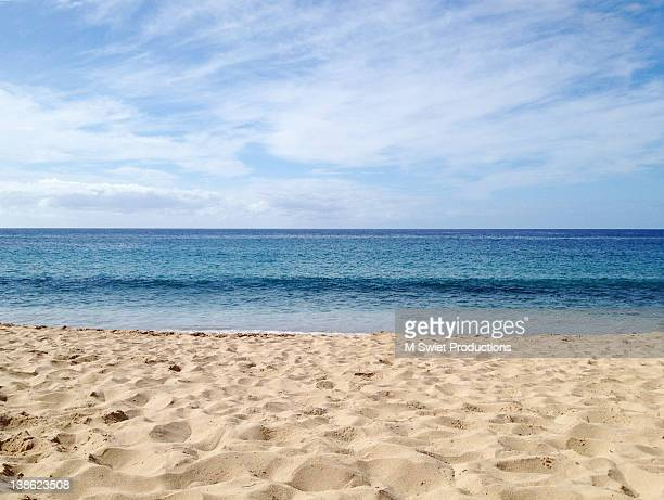 coastal beach - water's edge stock pictures, royalty-free photos & images