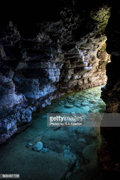 Coastal cave at North Landing, Flamborough, North Yorkshire