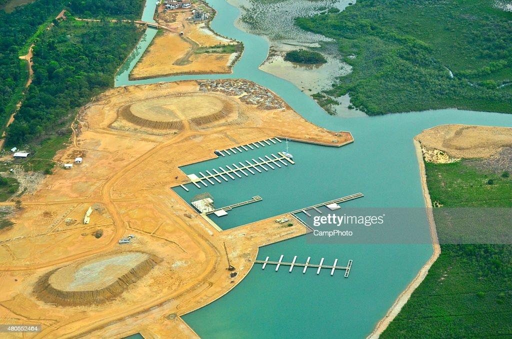 Costa de desarrollo : Foto de stock