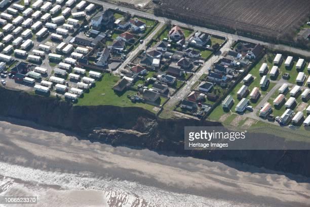 Coastal erosion by Westholme Avenue, Hornsea, East Riding of Yorkshire, 2014. Artist Historic England Staff Photographer.