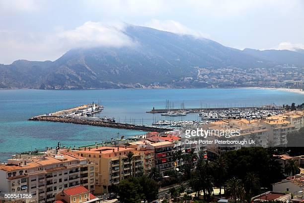 coastal fishing town of Altea, Costa Blanc
