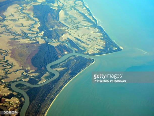 coastal geomorphology - dendrite stock photos and pictures