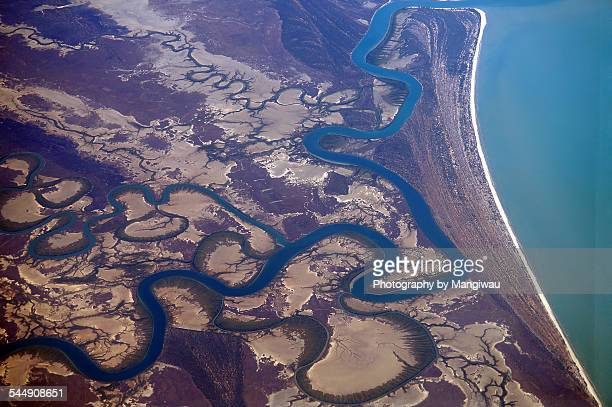 coastal geomorphology - barrier_islands stock pictures, royalty-free photos & images