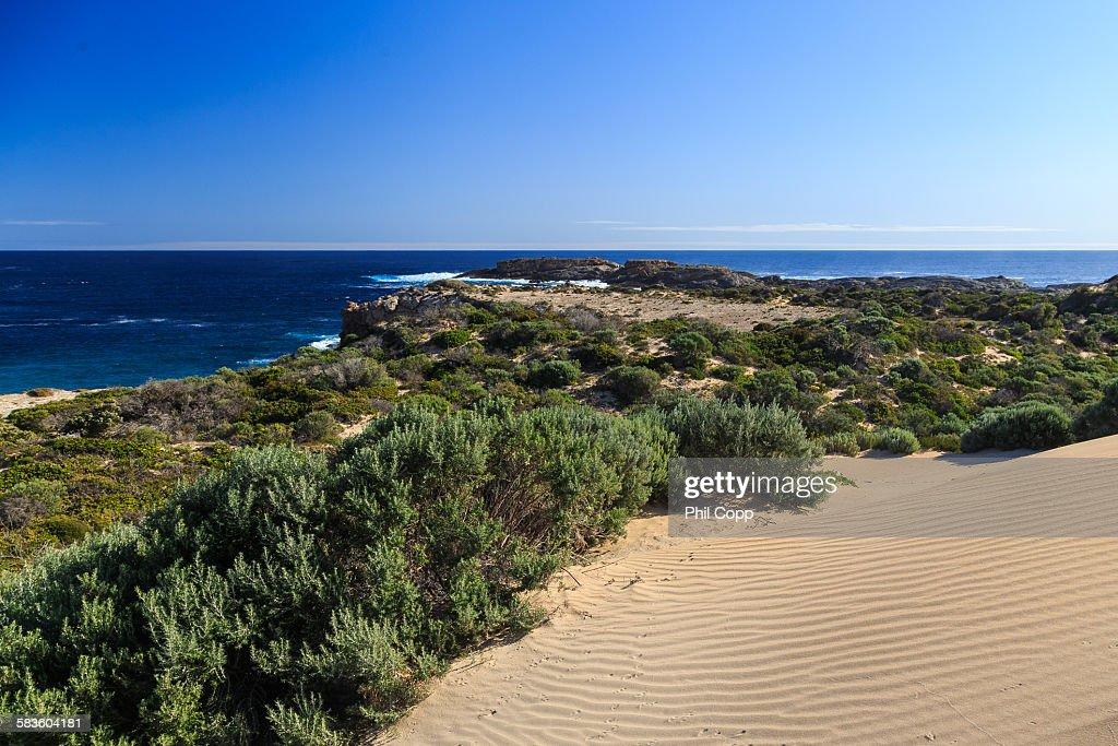 Coastal headland : Stock Photo