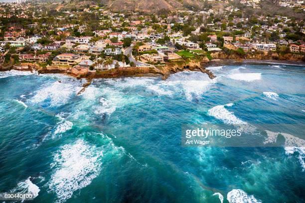 Coastal La Jolla Aerial View