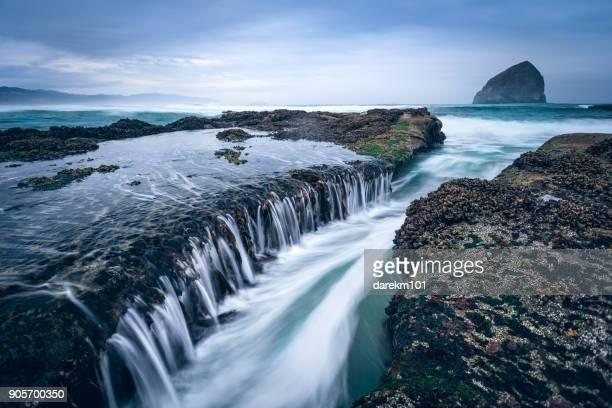 Coastal landscape, Cape Kiwanda, Oregon, America, USA