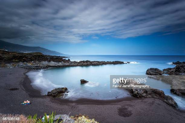 Coastal landscape view of Canary islands