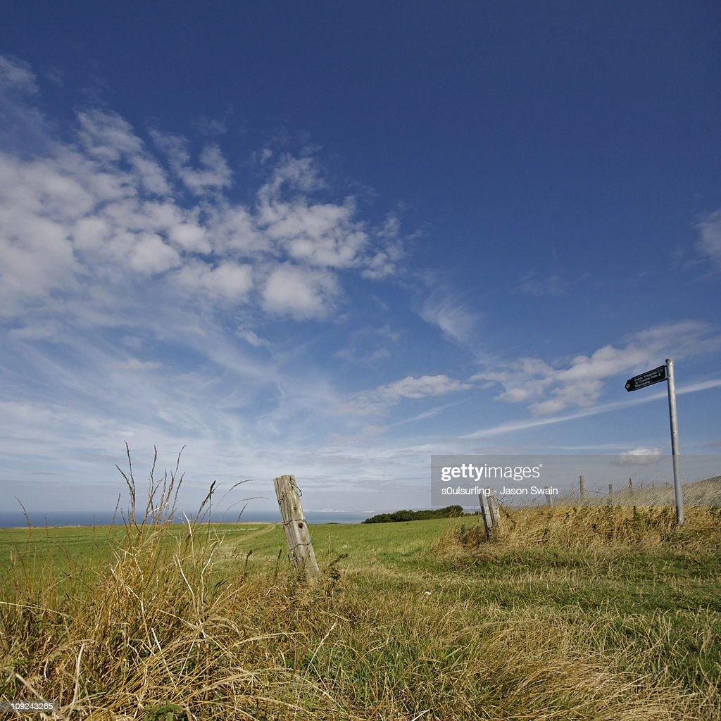 Coastal Path : Stock Photo