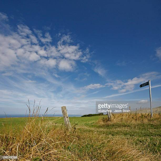 coastal path - s0ulsurfing stock pictures, royalty-free photos & images