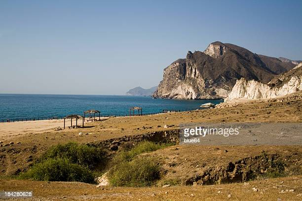 Coastal picture of Salalah, Oman - quiet and peaceful