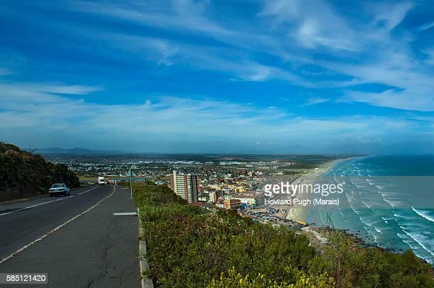 Coastal Road Mountain sea view