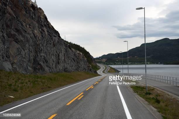 Coastal road near Alta, Norway