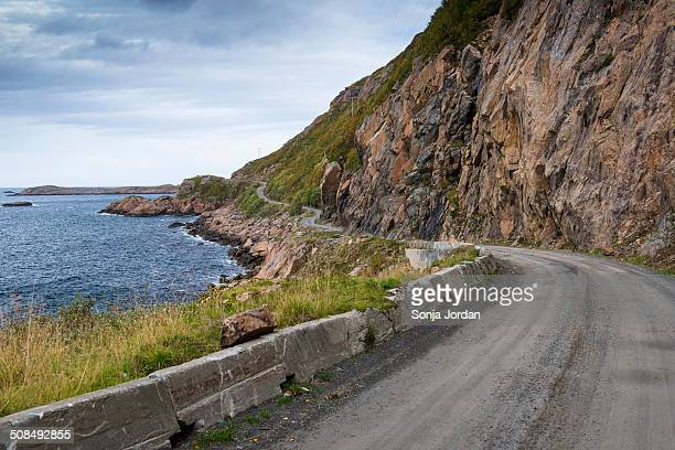 Coastal road on Langoya, Vesteralen, Norway