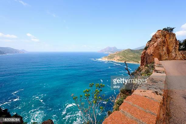 Coastal Road, sur l'île de la Corse