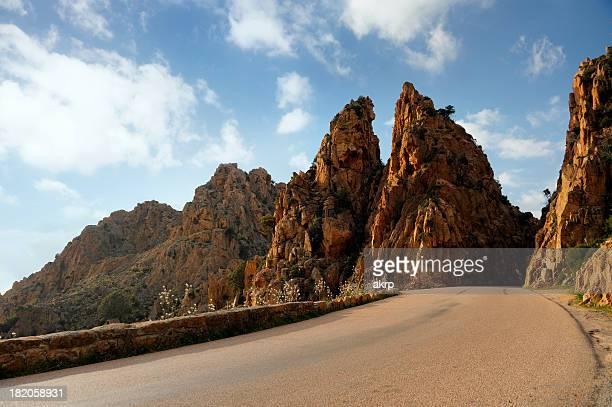 Coastal Road auf die Insel Korsika