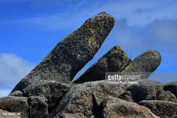 coastal rock architecture sculpture - symbolism stock pictures, royalty-free photos & images