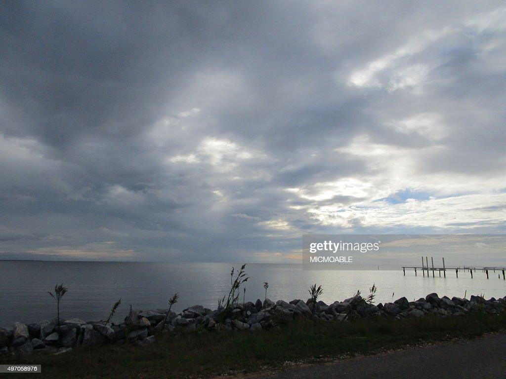 Coastal Scene In Bayou La Batre Alabama Stock Photo Getty Images