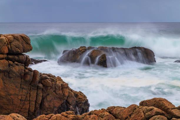 A coastal scene, Mossel Bay, Western Cape Province, South Africa.